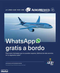 Whatsapp gratis a bordo