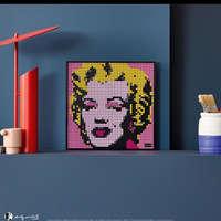 Lego Art Marilyn Monroe