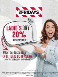 Ladie's Day 20% de descuento