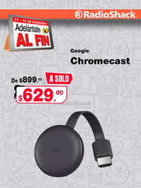 Adelántate al fin Google Chromecast