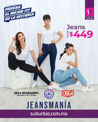 Jeans desde $499