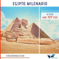 Egipto milenario 8 días