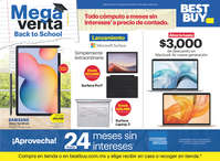 Mega venta back to school