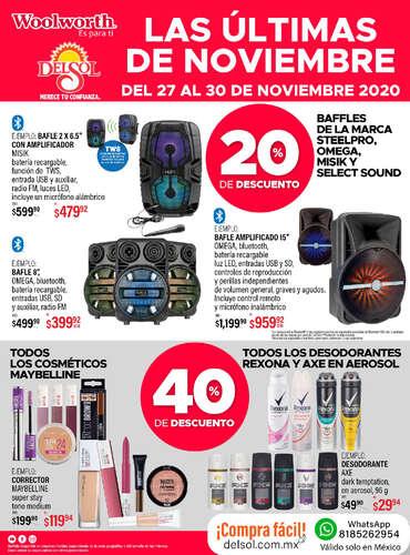 Las últimas de noviembre - CDMX Variedades- Page 1