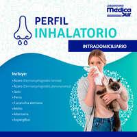 Perfil inhalatorio