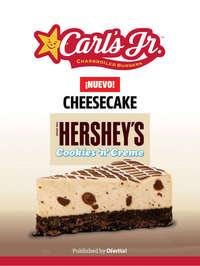 Nuevo Cheesecake Hershey's Cookies 'n' Creme