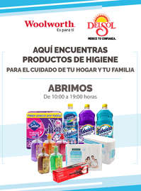 Aquí encuentras productos de higiene