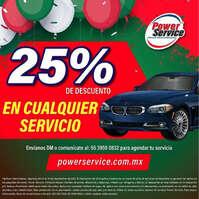 -25% en cualquier servicio
