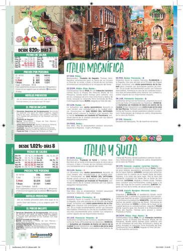 Circuitos por Europa mediterránea 2019- Page 1