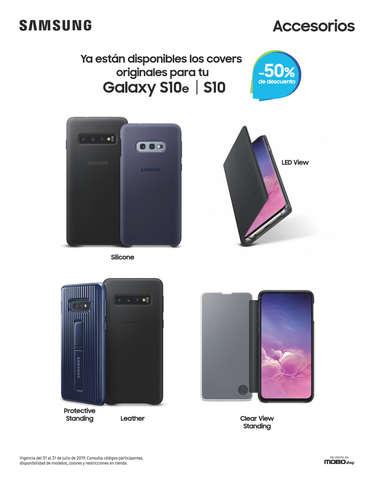 50% de descuento en accesorios Samsung de venta en MOBO- Page 1