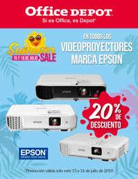 Summer SALE - Videoproyectores EPSON