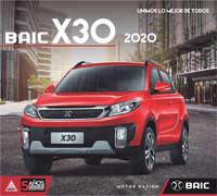 Baic X30 2020