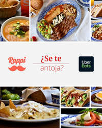Sanborns en Rappi y Uber eats