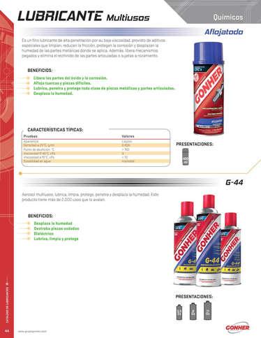 Catálogo de Lubricantes- Page 1