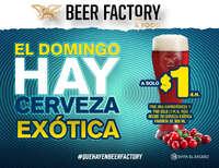 Domingos de cerveza exótica