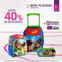 Back to School - mochilas