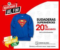 Sudadera Superhéroes