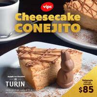 Cheesecake conejito