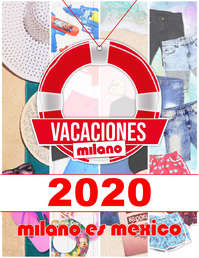 Catálogo Vacacional Milano