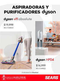 Aspiradoras y purificadores Dyson