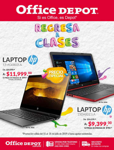Regresa a Clases - Laptop HP- Page 1