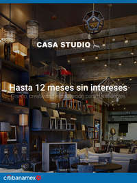 Casa Studio - Hasta 12MSI