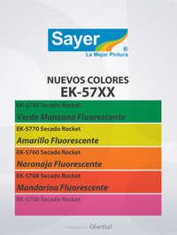 ¡Nuevos colores FLOURESCENTES!