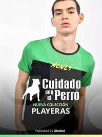 #ctdsg# CuidadoConElPerro Playeras Hombre