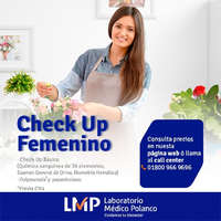 Check Up Femenino