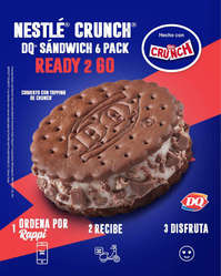 DQ Sandwich Crunch