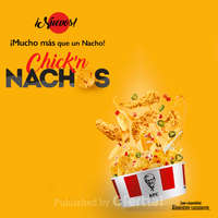 Chick'n nachos