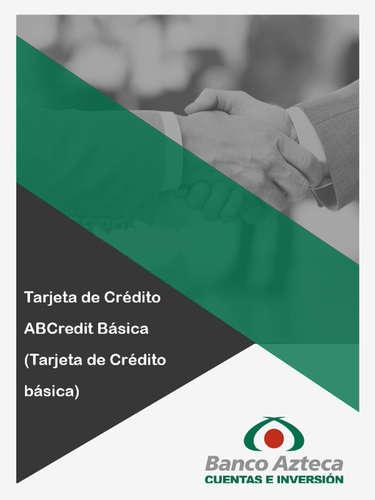 Tarjeta de Crédito ABCredit Básica- Page 1